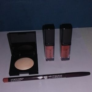 Laura Mercier lipgloss, highlighter and lip liner